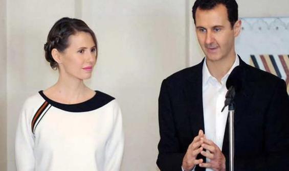 Beşar Esad ile Esma Esad Pozitif!