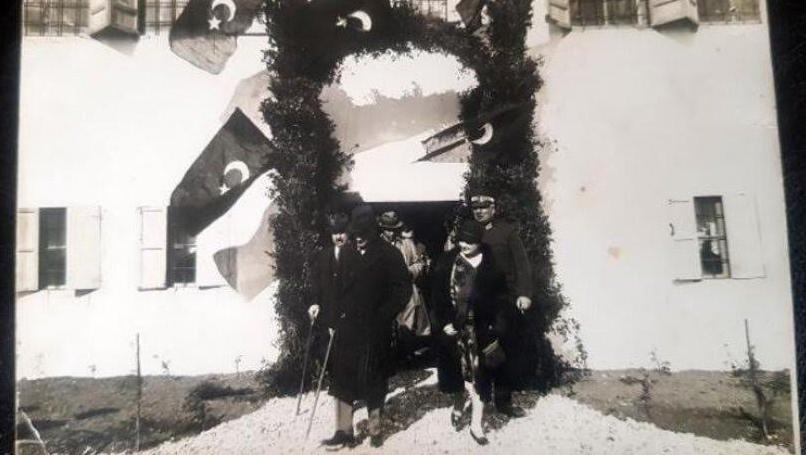 Atatürk'ün hiç yayınlanmayan orijinal fotoğrafı ortaya çıktı Fotoğraf Antalya'da çekilmiş