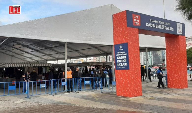 Kadıköy'de Kadın Emeği Pazarı