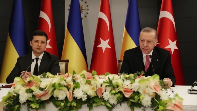 """Erdoğan Ukrayna Devlet Başkanı Zelensky ile görüştü: """"İşbirliğimiz üçüncü ülkelere karşı bir girişim değildir"""""""