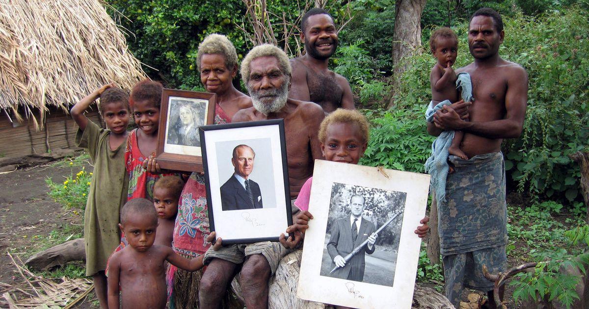 Prens Philip'in ölümü, bir 'tanrı' olarak kabul edilenVanuatu ülkesindeki Tanna adasında 'ritüel feryat' ile anılacak.