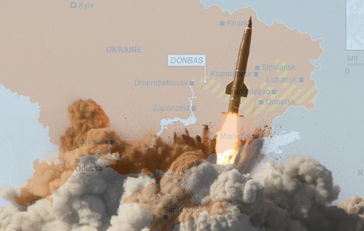 Savaşlar böyle mi çıkar?  Rusya İskender füzeleri Ukrayna sınırında; Amerikan savaş gemileri yakında Karadeniz'de