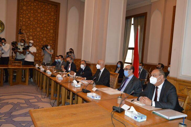 Mısır ile Türk heyeti arasında 8 yıl sonra resmi görüşme başladı