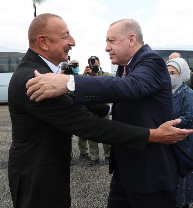 Cumhurbaşkanı Recep Tayyip Erdoğan Azerbaycan'da.