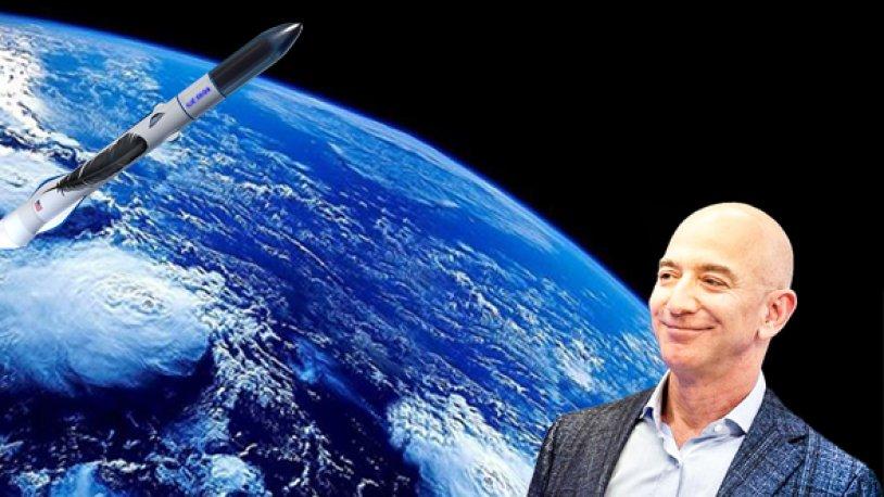 Jeff Bezos'la uzaya yolculuk etmenin bedeli 28 milyon$