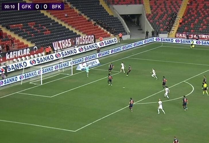 İşte Muhammed Demir'in attığı lig tarihinin en erken golü!
